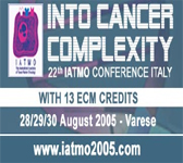 22 Iatmo Conference - Into Cancer Complexity